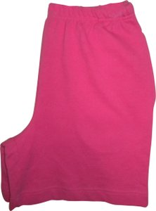 Coldwater Creek Elastic Waist New Cotton Pockets Pink Shorts