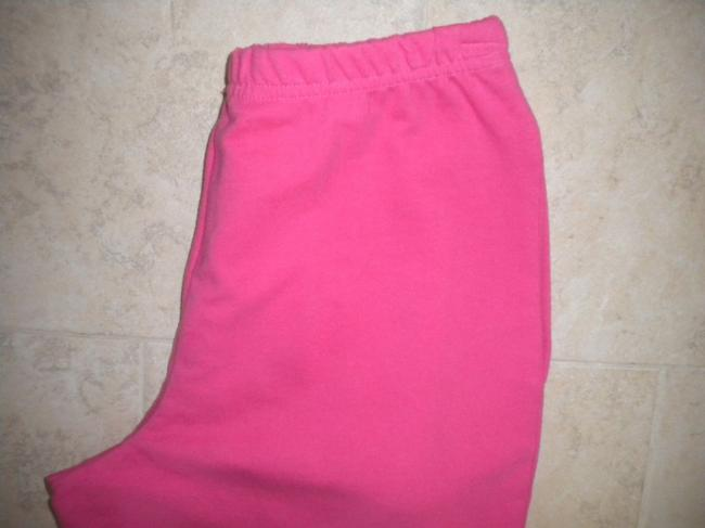 Coldwater Creek Elastic Waist New Cotton Pockets Pink Shorts Image 2