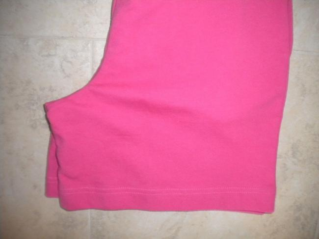 Coldwater Creek Elastic Waist New Cotton Pockets Pink Shorts Image 3