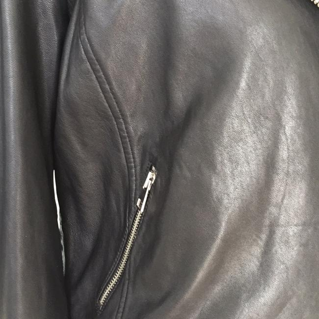 Lucky Brand black Leather Jacket Image 1