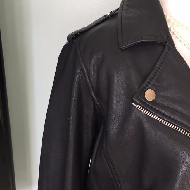 Lucky Brand black Leather Jacket Image 2