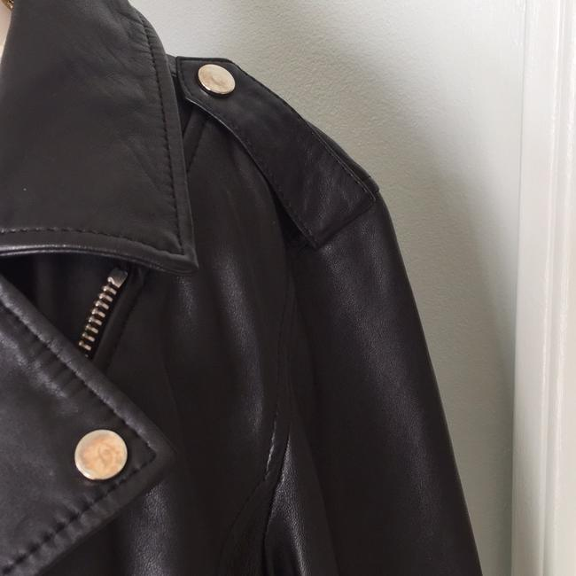 Lucky Brand black Leather Jacket Image 4