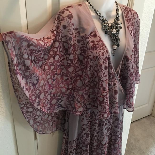 Free People short dress Plum and Taupe on Tradesy Image 2