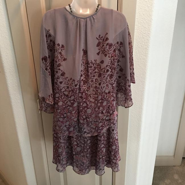 Free People short dress Plum and Taupe on Tradesy Image 3
