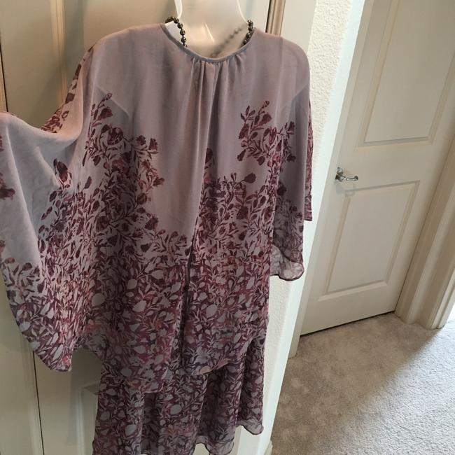 Free People short dress Plum and Taupe on Tradesy Image 4