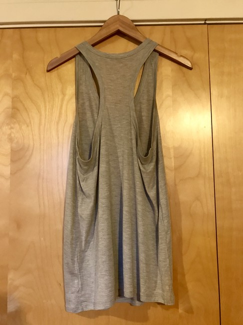 T by Alexander Wang Slouchy Top Grey Image 1