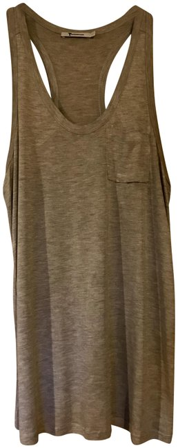 T by Alexander Wang Slouchy Top Grey Image 0