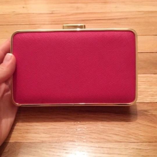 Michael Kors Pink and Gold Clutch Image 3