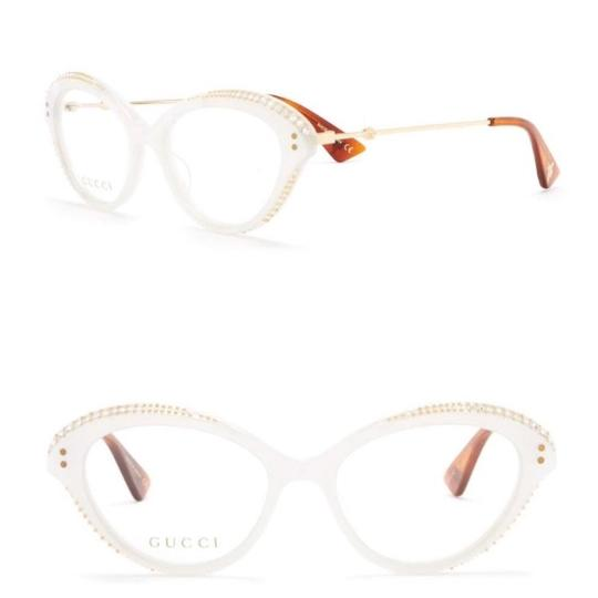 Gucci Authentic Gucci Cat Eyes Acetate/ Metal embellished optical glasses Image 0