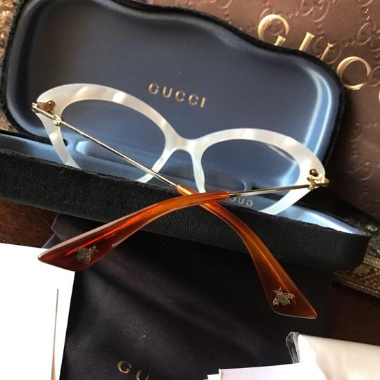 Gucci Authentic Gucci Cat Eyes Acetate/ Metal embellished optical glasses Image 5