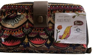 Sakroots Wristlet in colorful and artsy