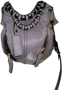 orYANY Heavy Duty Grey Soft Leather Hobo Bag