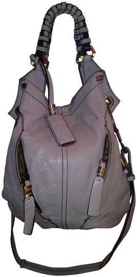 orYANY Heavy Duty Grey Soft Leather Hobo Bag Image 1