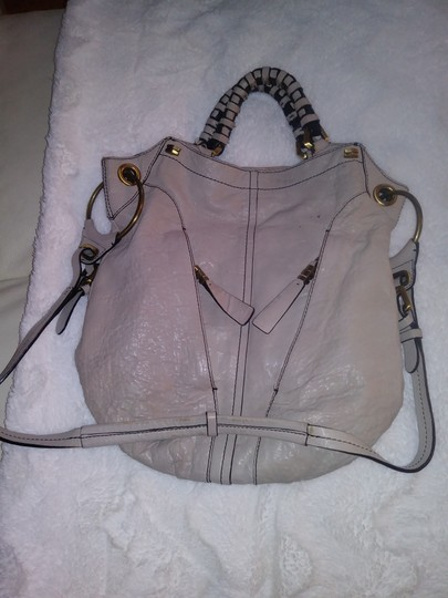 orYANY Heavy Duty Grey Soft Leather Hobo Bag Image 10