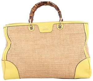 Gucci Tote in brown and yellow