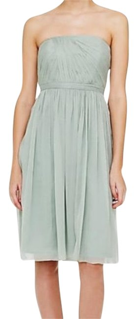 Preload https://img-static.tradesy.com/item/24297171/jcrew-dusty-shale-pale-mint-green-mindy-in-silk-chiffon-mid-length-cocktail-dress-size-0-xs-0-7-650-650.jpg