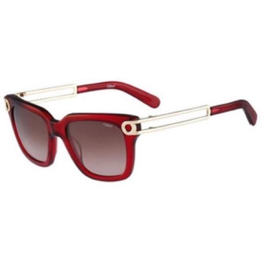 Preload https://img-static.tradesy.com/item/24297174/chloe-red-and-gold-sunglasses-0-0-540-540.jpg
