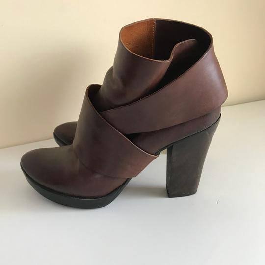 Anthropologie Brown Boots Image 3