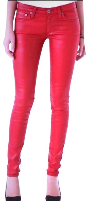 Preload https://img-static.tradesy.com/item/24297241/ag-adriano-goldschmied-red-leatherette-legging-jeans-pants-size-10-m-31-0-3-650-650.jpg