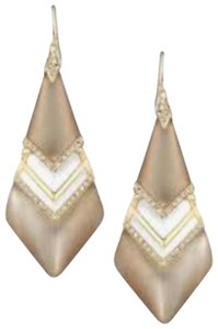 Alexis Bittar Alexis Bittar Phoenix Deco Lucite Crystals Chevron Earrings