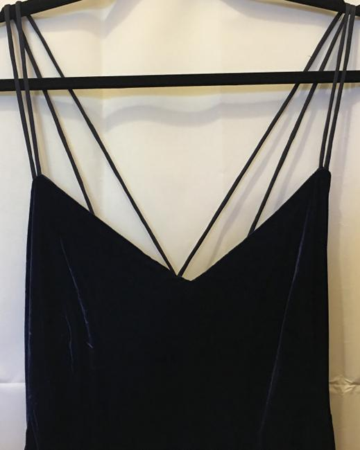 Lauren Ralph Lauren Deep Velvet Sweetheart Neckline Double Cross Straps New With Tags Dress Image 1