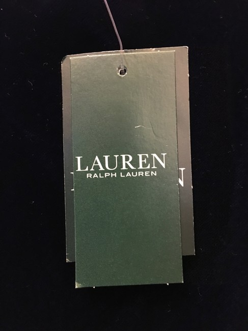 Lauren Ralph Lauren Deep Velvet Sweetheart Neckline Double Cross Straps New With Tags Dress Image 3