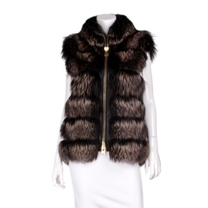 Tom Ford Fur Lambskin Gold Hardware Vest
