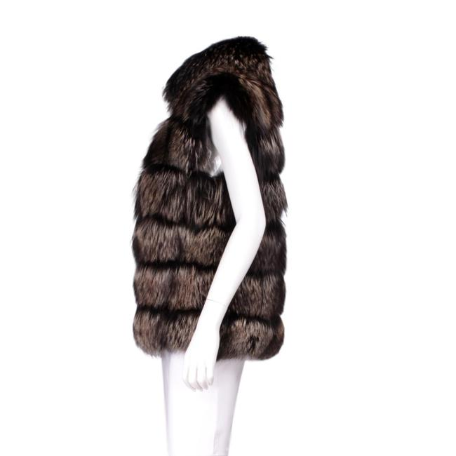 Tom Ford Fur Lambskin Gold Hardware Vest Image 1