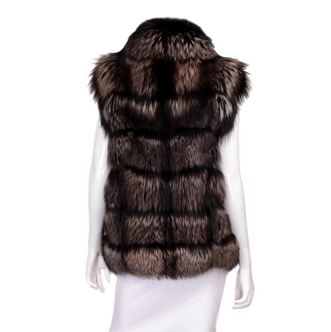 Tom Ford Fur Lambskin Gold Hardware Vest Image 2