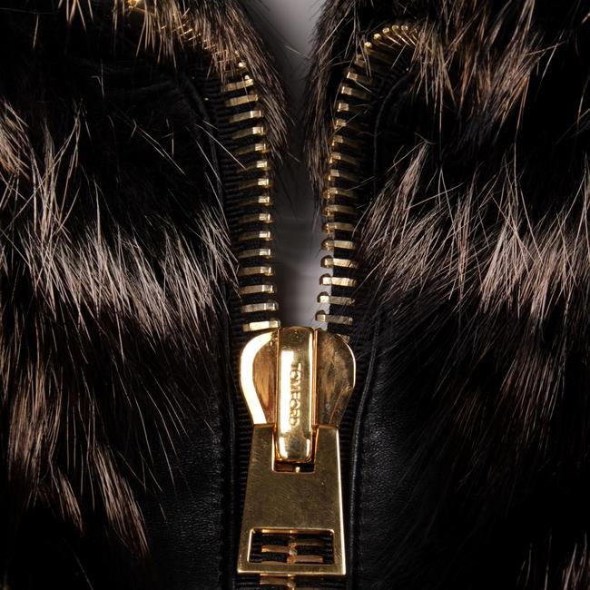 Tom Ford Fur Lambskin Gold Hardware Vest Image 6