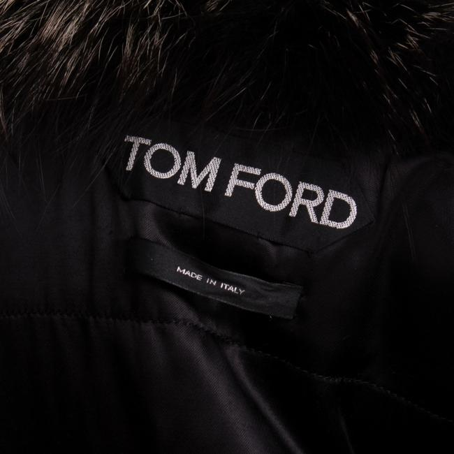 Tom Ford Fur Lambskin Gold Hardware Vest Image 7