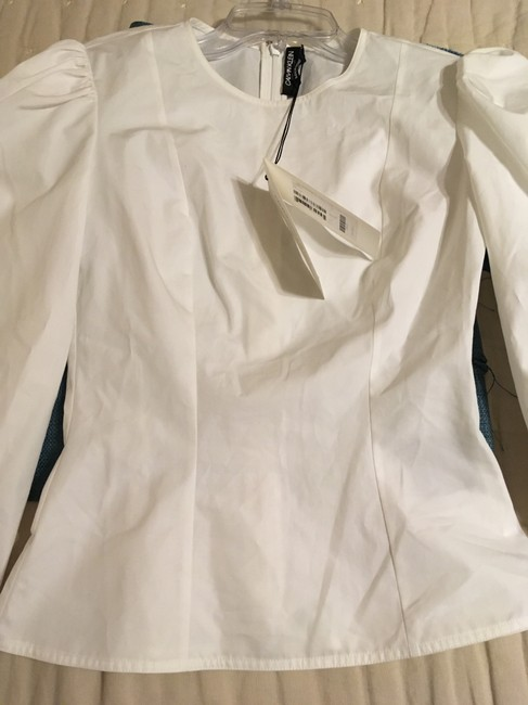 Calvin Klein Fitted Top White Image 1