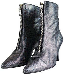 Versace Silver Boots