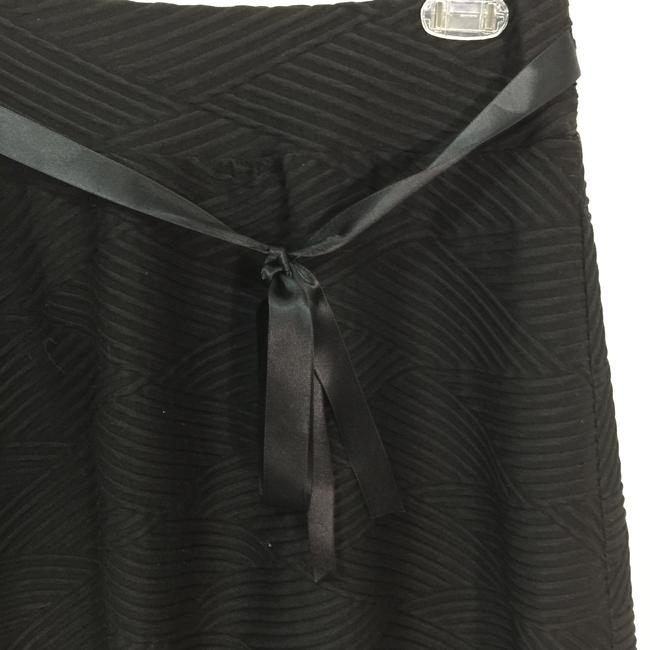 joe b Skater Ribbed Tie Skirt Black Image 2