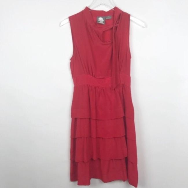 Anthropologie short dress red on Tradesy Image 1