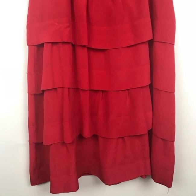 Anthropologie short dress red on Tradesy Image 2
