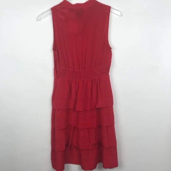 Anthropologie short dress red on Tradesy Image 3