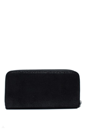 Stella McCartney Stella McCartney Falabella Box Continental Wallet Black Faux Leather