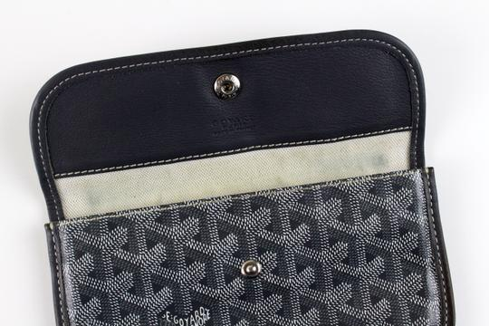 Goyard Like New Gray Wallet/Coin Pouch
