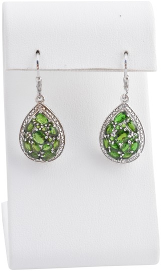 Preload https://img-static.tradesy.com/item/24297503/green-chrome-diopside-diamond-earrings-0-1-540-540.jpg
