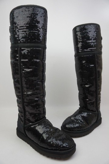 Preload https://img-static.tradesy.com/item/24297533/ugg-australia-black-over-the-knee-bailey-sparkles-sequin-bootsbooties-size-us-7-regular-m-b-0-2-540-540.jpg