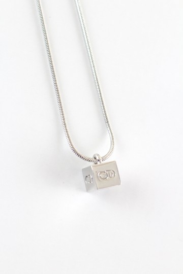 Preload https://img-static.tradesy.com/item/24297541/dior-silver-rare-dice-necklace-0-2-540-540.jpg