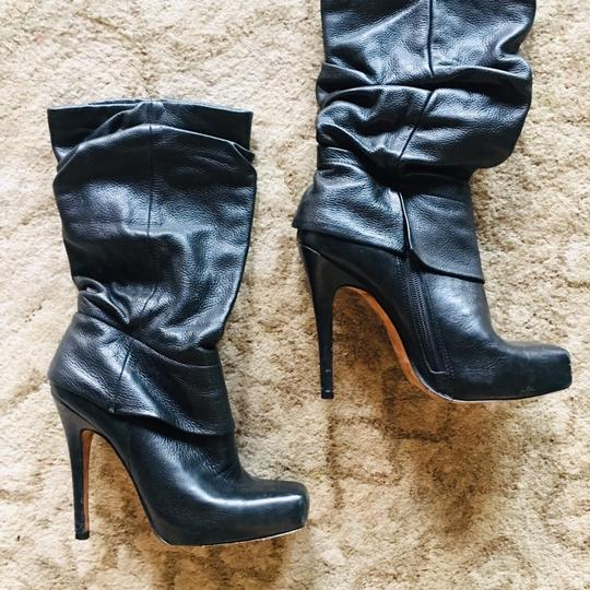 Old Skool Aldo Leather Boots black Boots
