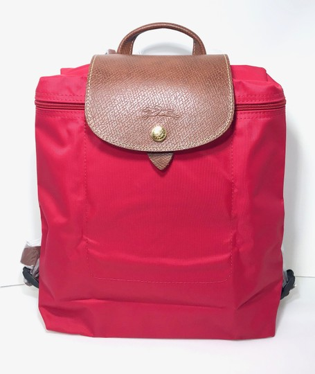 Preload https://img-static.tradesy.com/item/24297561/longchamp-new-le-pliage-red-nylon-backpack-0-2-540-540.jpg