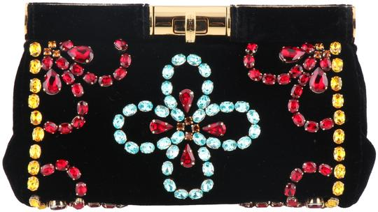 Preload https://img-static.tradesy.com/item/24297572/dolce-and-gabbana-dolce-and-gabbana-with-crystals-black-velvet-clutch-0-3-540-540.jpg