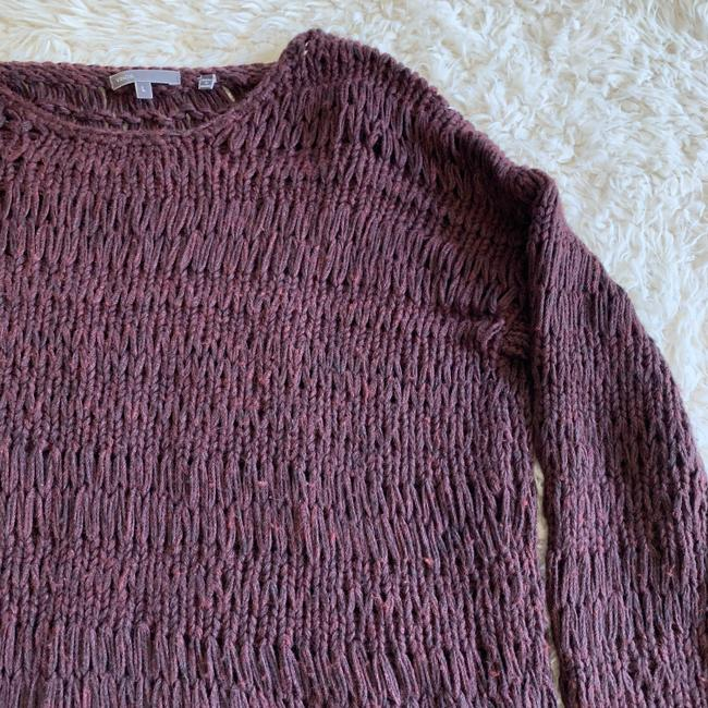 Vince Boat Neck Casual Knit Loose Sweater
