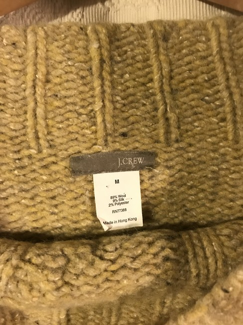 J.Crew Off The Shouder Cableknit Sweater