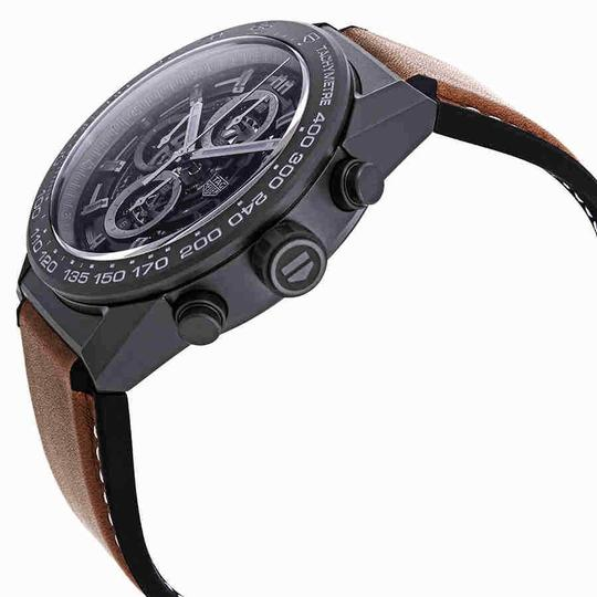 TAG Heuer Tag Heuer Carrera Chronograph Automatic Black Dial Men's Watch CAR2A91