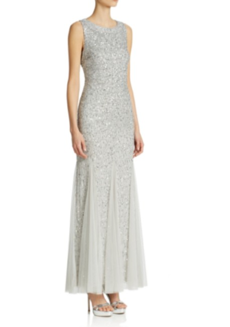 Preload https://img-static.tradesy.com/item/24297596/aidan-mattox-silver-sequined-godet-gown-long-formal-dress-size-4-s-0-0-650-650.jpg