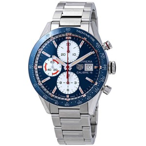 TAG Heuer Tag Heuer Carrera Blue Dial Automatic Men's Chronograph Watch CV201AR.